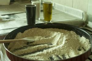 rosted flour - Qizha